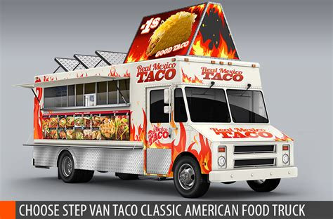 food truck design app food truck mock up van eatery mockup by bennet1890