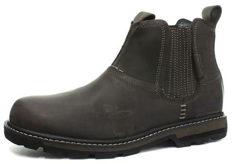 skechers blaine orsen mens boots new skechers blaine orsen mens slip on ankle boots all