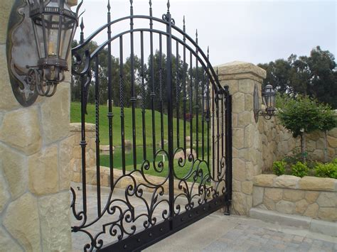 wrought iron gate wrought iron gate in los angeles a locally owned