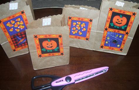 Handmade Treat Bags - at home with handmade treat bags