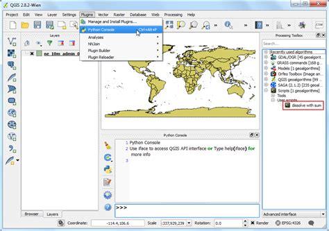 qgis processing tutorial writing python scripts for processing framework qgis