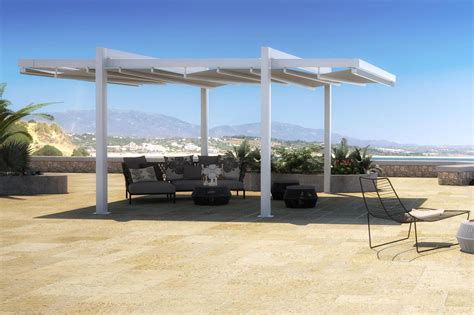 retractable patio cover the forli free standing pergola cover retractableawnings