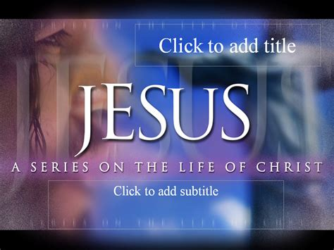 jesus powerpoint templates jesus a series on the of ebibleteacher