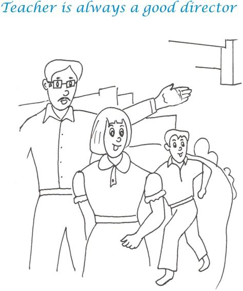 Teacher S Day Printable Coloring Page For Kids 9 Teachers Day Coloring Pages