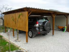 solid wooden carports by woodworks direct