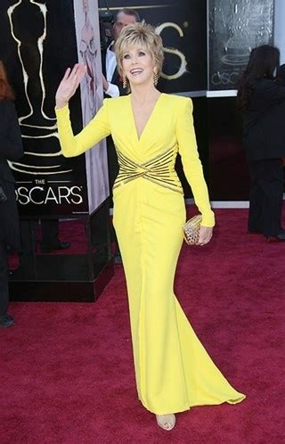 jane fonda yellow dress 752 best images about growing old with style on pinterest