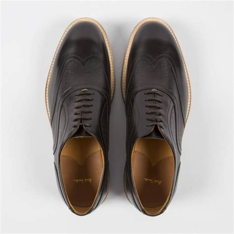 oxford shoes with paul smith s black calf leather truman oxford shoes