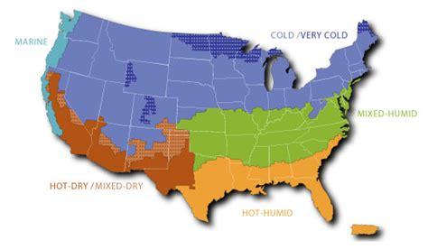 climate zone map united states commercial buildings energy consumption survey cbecs u
