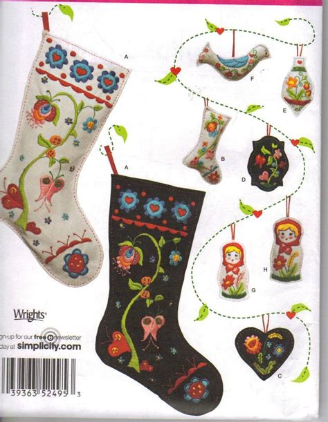 pattern for felt christmas stocking christmas stocking patterns felt pattern collections