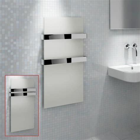 towel radiators for bathrooms kudox quot ikon quot designer white heated towel rail radiator