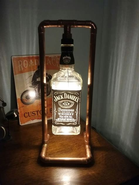 beleuchtung vintage jd steunk copper bottle l table light