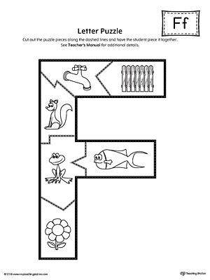 printable alphabet letter puzzles letter f puzzle printable myteachingstation com