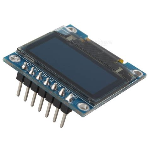 Lcd Oled 0 96 White Display I2c Module White Arduino hengjiaan 0 96 quot white spi i2c iic oled lcd display module free shipping dealextreme