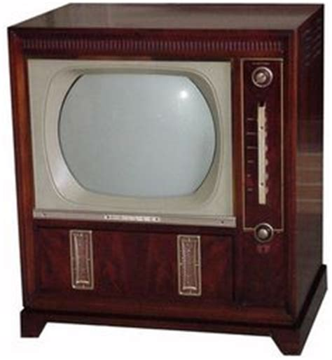 when did color tv began 1000 images about television sets on