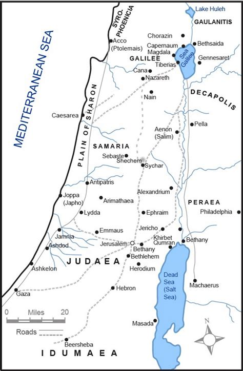 map of new testament jerusalem resources jesus and the gospels