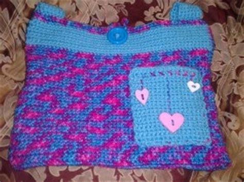 crochet walker bag pattern crochet walker tote bag with pocket by pursuingcraftiness