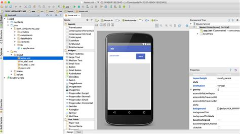 Layout Name Android Studio | importing source code into android studio dropsource