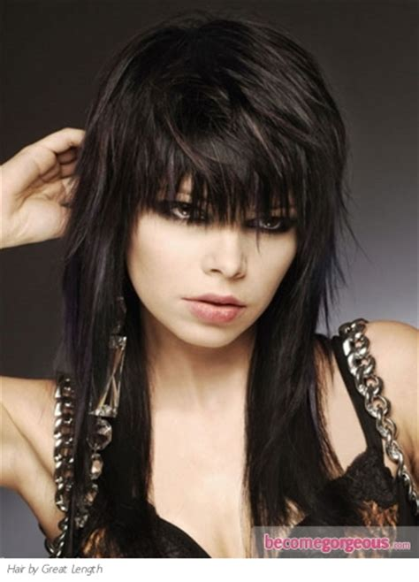 pictures emo girl hairstyles