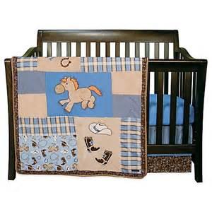 trend lab 174 cowboy baby 3 crib bedding set buybuy baby