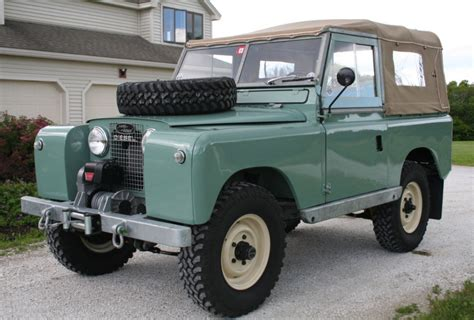 land rover series ii restored 1960 land rover series ii for sale on bat
