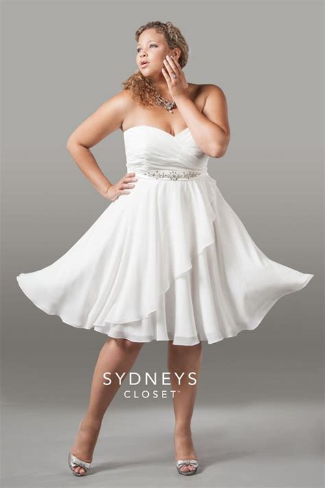 10 Best images about Short Plus Size Wedding Dress on