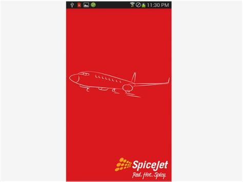 spicejet mobile app spicejet launches mobile app gizbot