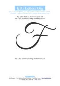 printable big letter f templates big letters org