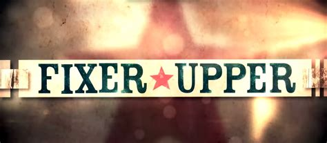 fixer upper logo hgtv fixer upper returning series