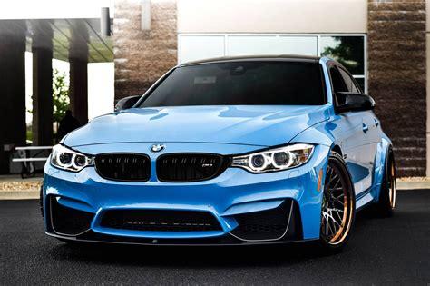 Bmw M3 Blue by Sky Blue Bmw M3 F30 On Avant Garde Sport Wheels Carid