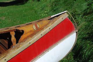 stem 2 stern boat finishes salmon falls canoe september 2012
