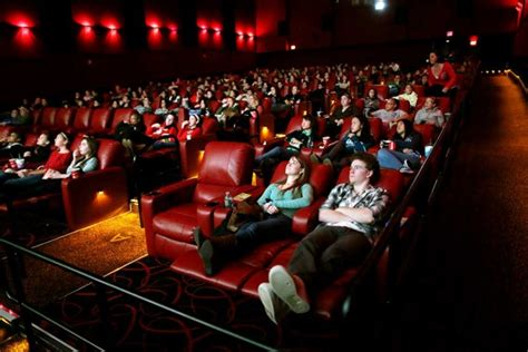 reclining chair theater nyc reclining seats dine in menus boost movie ticket sales