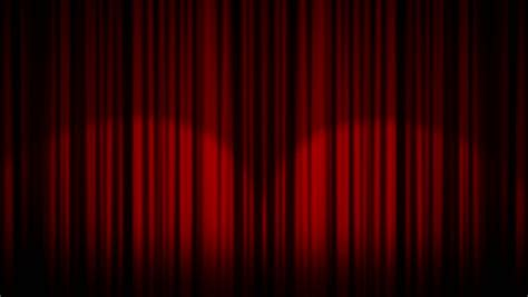 behind the blue curtain cinema curtains opening revealing an empty canvas matte