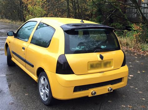 renault yellow yellow renault clio sport respray cooper car commercial