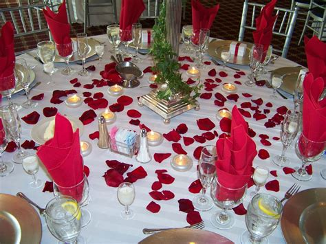 Table Wedding Decorations Fashion On The Ideas For Wedding Decorations