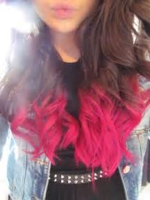 dye bottom hair tips still in style des id 233 es de dip dye hair pour cheveux fonc 233 s do it yourself