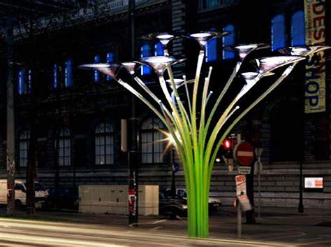 Tree Solar Lights Ross Lovegrove Solar Trees In Vienna Inhabitat Green