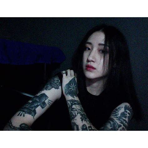 korean girl tattoo this south korean femme fatale is going to be your new