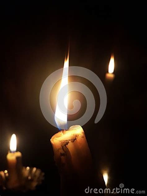 Just Give Me The Light by Candles Stock Photo Image 60951079