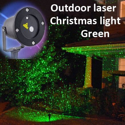 christmas laser decorative light star shower weatherproof