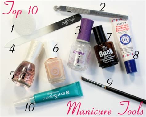 Manicure Products by My Favorite Nail Products For A Foolproof Manicure All