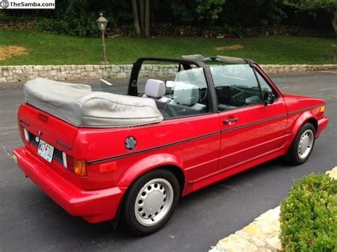 volkswagen rabbit 1990 1990 volkswagen cabriolet german cars for sale