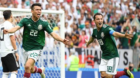 mexico vs germany last match result germany vs mexico score hirving lozano s early