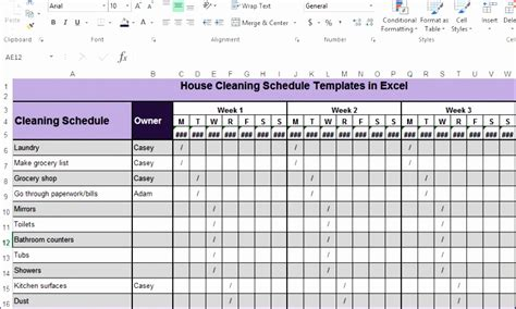 6 Microsoft Excel Employee Schedule Template Exceltemplates Exceltemplates Monthly Cleaning Schedule Template Excel