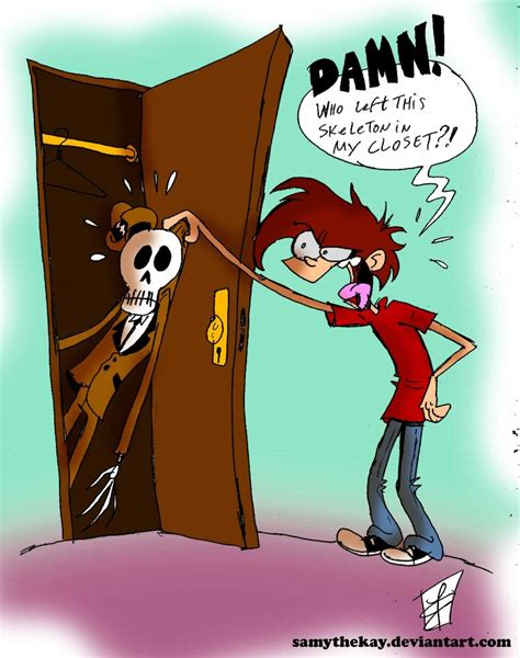 A Skeleton In The Closet by Skeleton In The Closet By Samythekay On Deviantart
