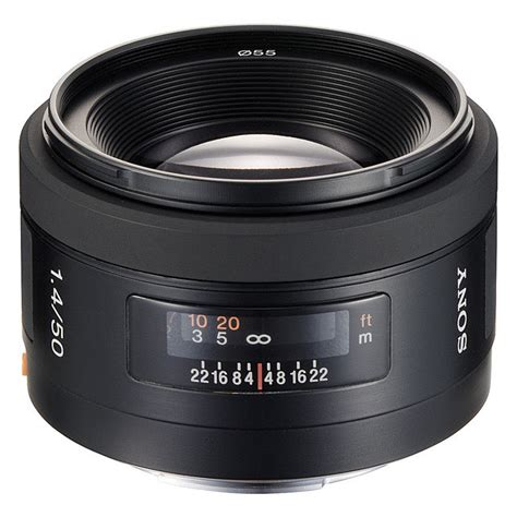 Sony Lens Sal 50mm F1 8 A Mount sony af 50mm f1 4 a mount lens info