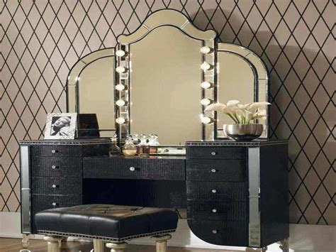 Bedroom Vanity Set With Lights Mirrors Bedroom Vanity Sets Ikea Mirror With And Set Lights For Interalle
