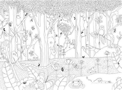 exotischer urwald ausmalen und b01gizlxjw dschungel zum ausmalen was einkaufen de