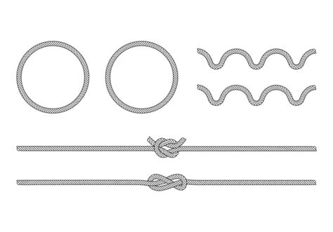 rope pattern brush free download vector rope brush download free vector art stock