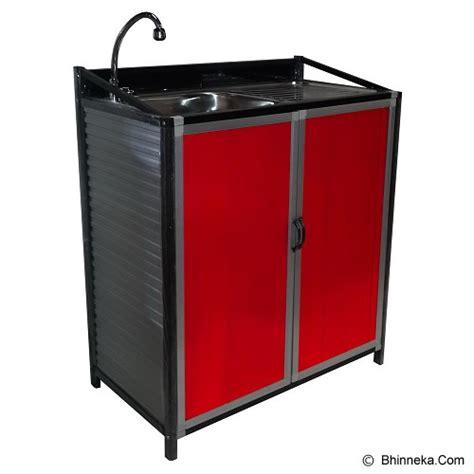 Rak Tempat Cuci Piring jual bina karya kitchen set aluminium meja cuci piring kscw m merchant murah