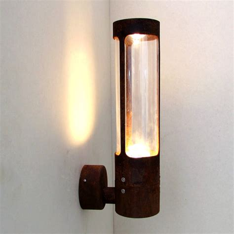 Natural Patina Ip Rated Wall Light By Unique S Co Unique Outdoor Wall Lights